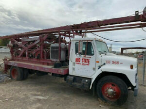 Speedstar 72 Cable Tool Drill Rig 2000 Ft Rated Rock No Problem We Ship
