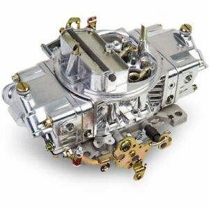 Holley 0 4776sa Aluminum Double Pumper Carburetor 600 Cfm 4 Bbl