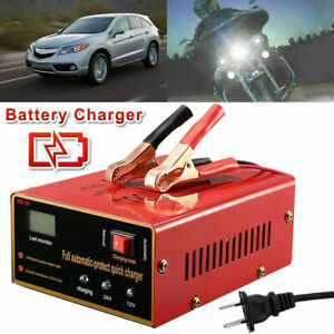 Battery Charger 12v 10a 24v 7 5a 140w Output Led Display For Electric Car Usa