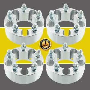 4 For Jeep Cherokee Liberty 2 Thick Wheel Spacers Adapters 5x4 5 1 2x20 Studs