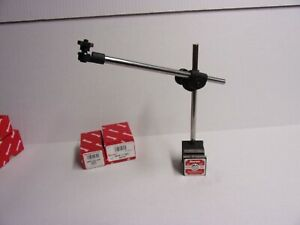 Starrett 657d Magnetic Base With Indicator Post Assembly New
