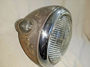 1930 S 1940 S Corcoran Brown Sealed Beam Headlight With Parking Light M171