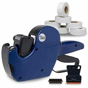 2 Line Price Gun Labeler Kit Pricing Gun 10 500 Plain White Labels And