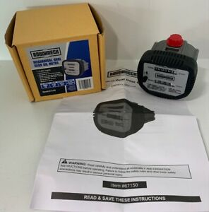 Roughneck 67150 Mechanical Oval Gear Oil Meter 1 32gpm 1000 Psi 1 2 Npt Nib