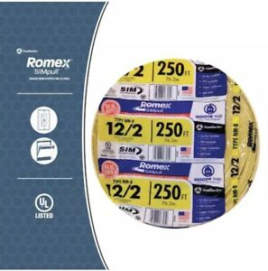 Brand New Romex 12 2 Copper Cable Wire Nm b Ships Same Day local Pick Up