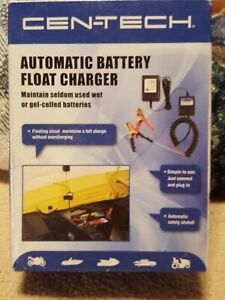 12 Volt Battery Charger Maintainer Tender Float Smart Charger New In Package