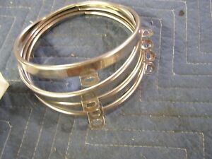 Headlight Retaining Rings Set Of 4 Brand New Fit Studebaker And Others