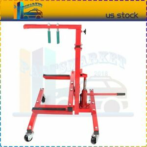 New Autobody Mobile Rolling Door Bumper And Hydraulic Press Jack Stand Dolly