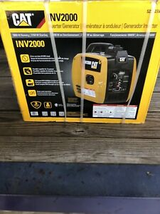 New Cat Inv2000 1800w Gas Powered Portable Inverter Generator