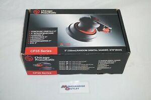 Chicago Pneumatic 5 Random Orbital Sander 3 16 cp3512 see Description