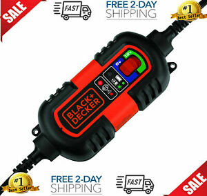 Black Decker Battery Charger Maintainer Automatic Float Trickle Car Truck 6v 12v