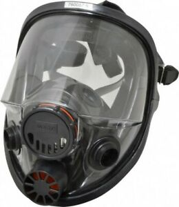 North 7600 Series Full Face Respirator Facepiece Size m l 3m Cart Included