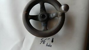 Southbend Lathe Tail Stock Quill Crank Handle Knob 5 8 Hole