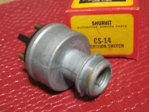 New 1957 1963 Amc Nash Hudson Ignition Switch Made In Usa See Details