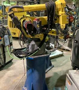 Fanuc Arcmate 120ic 10l 6 Axis Robot With Welder