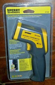 Sperry Instruments Tempcheck Non contact Infrared Thermometer Model irt200