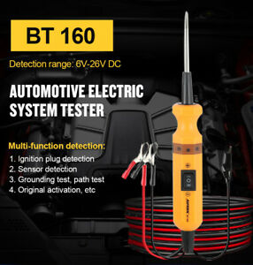 12v 24v Battery Power Probe Auto Circuit Tester Electrical System Powerscan Test