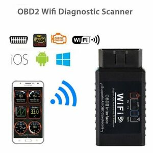 Wifi Obd2 Elm327 Car Auto Diagnostic Scanner For Iphone Android Torque Scan Tool