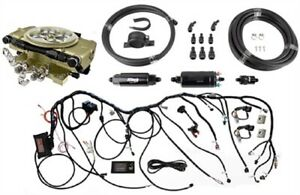 Fitech Fuel Injection 37001k Retro Ls Throttle Body System Kit Includes Fitech