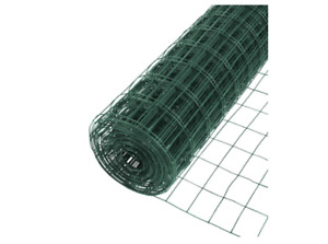 5 X 50 Ft Vinyl Galvanized Welded Mesh Wire 16 Gauge Pvc Coated Garden Fencing