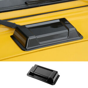 For Jeep Wrangler Tj 1996 2006 2nd Carbon Front Engine Hood Air Inlet Vent Trim