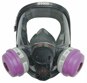 North 7600 Series Full Face Respirator Facepiece Size m l