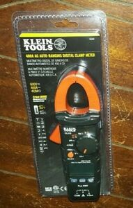 Klein Tools 400a Ac Auto ranging Digital Clamp Meter Model cl312