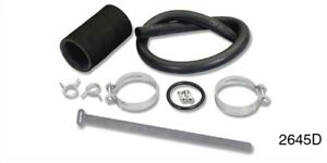 Danchuk 2645d Gas Tank Filler And Vent Hose Kit 1957 Chevy Tri five Includes Fil