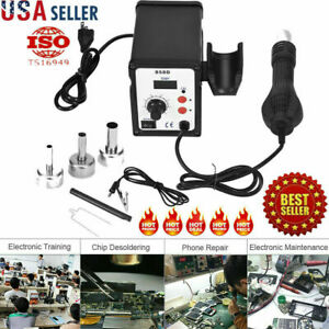 Led 858d 700w Electric Hot Air Heat Gun Soldering Station Desoldering Tackle