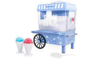 Commercial Snow Cone Machine Maker Shaved Electric Crusher Shaving Ice Shaver