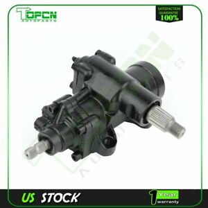 Power Steering Gear Box Assembly For 1988 1999 Chevy Tahoe Gmc Yukon C2500 K2500