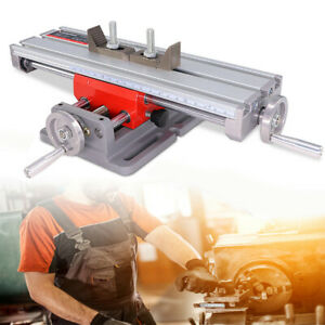 X Y Axis Mini Bench Cross Slide Visetable Milling Drilling Fixture Worktable 1pc