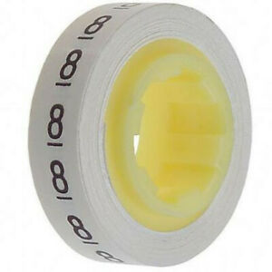Sdr 8 Wire Marker Tape Refill Roll Number 8 pack Of 10