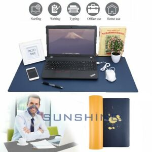 Desk Pad For Office Home 32 X 16 Pu Leather Waterproof Large Desk Writing Us