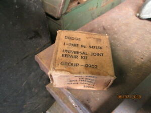 Nos Vc And Wc Dodge U Joints Part Number 947556 Wwii Wc53 Wc52 Wc4 Wc6 Etc
