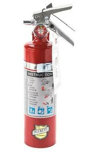 Fire Extinguisher Abc Dry Chemical Rechargeable Dot Vehicle Bracket 2 5 Lbs