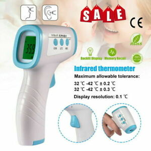 Infrared Forehead Thermometer Body Temperature Meter Home Fast Measuring