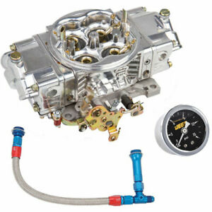 Holley 0 82751sak Aluminum Street Hp Carburetor Kit Includes 750 Cfm Carburetor