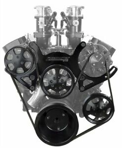 Speedmaster 1 415 002 Serpentine Engine Pulley Kit Small Block Chevy With