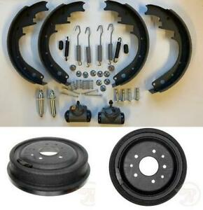 Brake Shoe Drum Kit With Hardware Fit Chevrolet 3100 1 2 Ton 1951 1957 Front