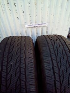 2 275 60r18 7 32 Continental Crosscontact 8 32 Used Tires