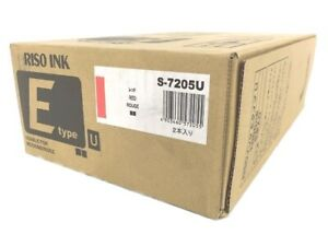 Risograph S 7205u fii Type Red Ink Box Of 2 1000ml Tubes