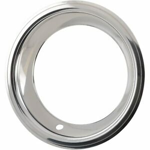 Jegs 681281 Stainless Steel Trim Ring Fits Jegs 15 In X 7 In Rally Wheels