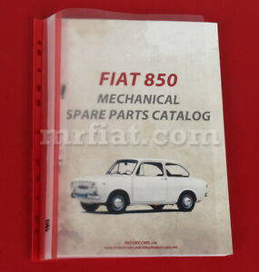Fiat 850 Mechanical Spare Parts Catalog New