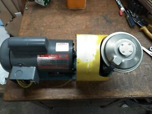Dayton 1 3 Hp Electric Motor With Vacuum Pump Assembly 115 230vac