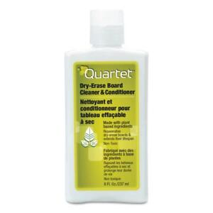 Quartet Whiteboard Conditioner Cleaner 8 fl Oz Unscented Non abrasive Cleaner