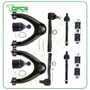 Complete Suspension Kit sway Bar Tie Rod Ends For 96 97 98 99 00 Honda Civic