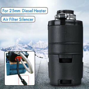 25mm Air Pipe Filter Silencer W Clip For Dometic Eberspacher Diesel Heater Us
