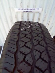 265 70r17 Bf Goodrich Rugged Trail 10 32 Used Tires