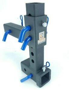 Rugged Adjustable Hitches Ball Mount Drop Rise Trailer Tow Hitch 2 Receiver